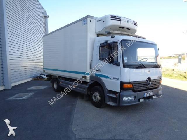 camion frigo porte viandes occasion mercedes atego 823 gazoil thermoking