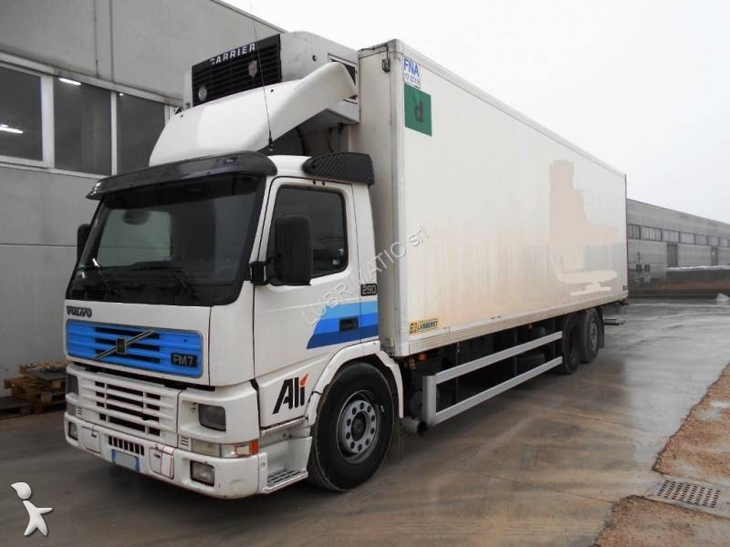 camion volvo frigo carrier fm 290 6x2 euro 3 hayon occasion n 1917400. Black Bedroom Furniture Sets. Home Design Ideas
