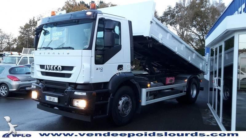 camion iveco tri benne stralis ad 190 s 31 k gazoil euro 4. Black Bedroom Furniture Sets. Home Design Ideas