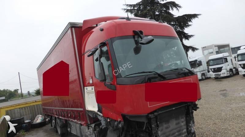 camion renault rideaux coulissants plsc gamme t 460 6x2 gazoil euro 6 accident n 2000832. Black Bedroom Furniture Sets. Home Design Ideas