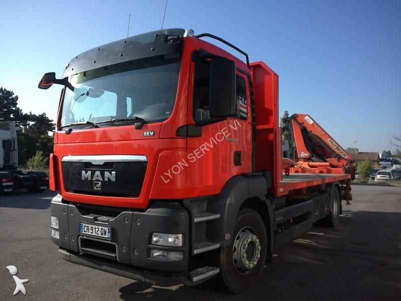 camion man plateau tgs 4x2 gazoil euro 5 grue occasion n 2017038. Black Bedroom Furniture Sets. Home Design Ideas