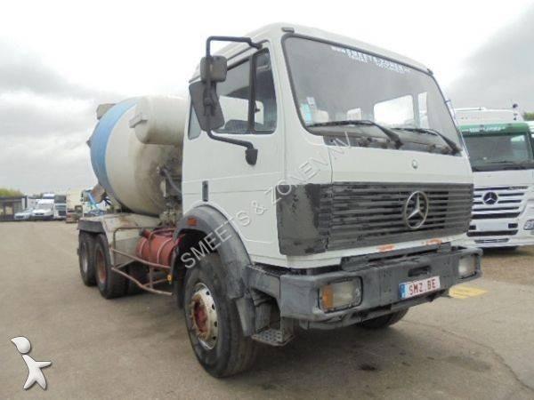 camion mercedes b ton toupie malaxeur 2629 6x4 gazoil occasion n 2019964. Black Bedroom Furniture Sets. Home Design Ideas