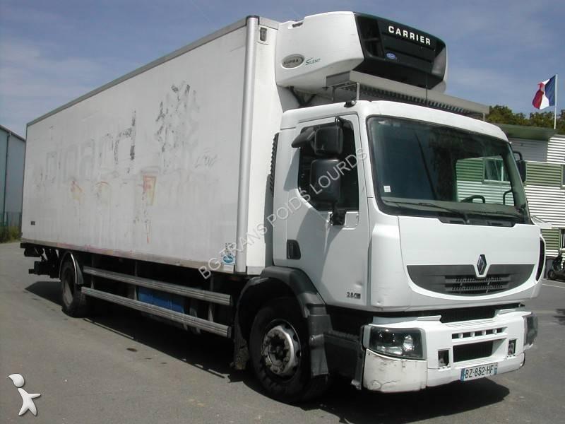 camion renault frigo carrier premium 280 dxi 4x2 euro 4 sponda usato n 2023209. Black Bedroom Furniture Sets. Home Design Ideas