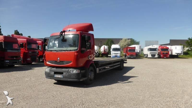 camion renault plateau standard midlum dxi 4x2 euro 5 occasion n 2039399. Black Bedroom Furniture Sets. Home Design Ideas