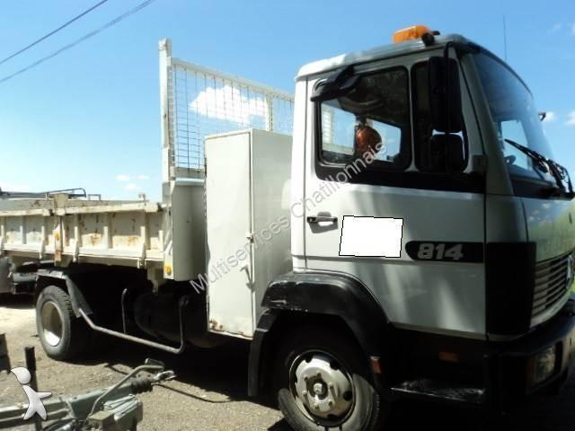 camion mercedes benne 814 4x2 gazoil euro 1 occasion n 2102769. Black Bedroom Furniture Sets. Home Design Ideas