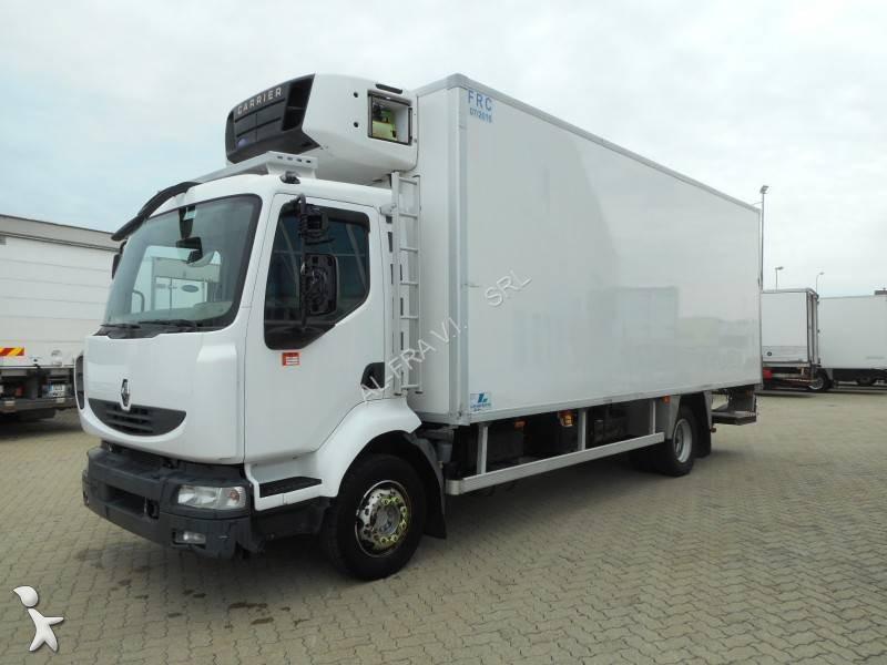 camion renault frigo carrier monotemperatura midlum 4x2 euro 5 sponda usato n 2112572. Black Bedroom Furniture Sets. Home Design Ideas