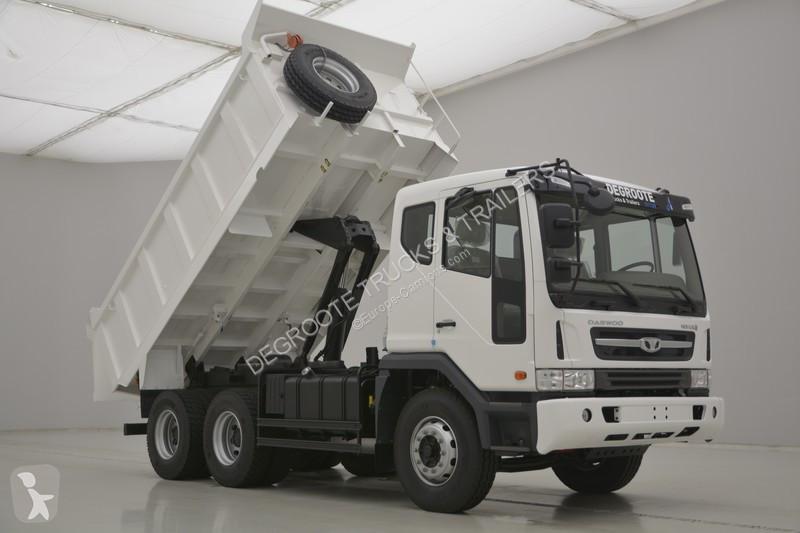 camion daewoo benne k4def 6x4 gazoil euro 2 neuf n 2126542. Black Bedroom Furniture Sets. Home Design Ideas