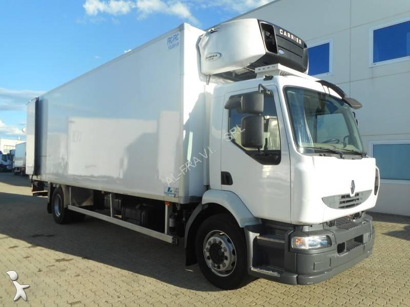camion renault frigo carrier multitemperature midlum dxi 4x2 gasolio euro 5 sponda usato. Black Bedroom Furniture Sets. Home Design Ideas