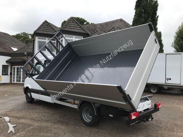 camion mercedes benne sprinter 516 doka 3 s kipper hohebracke nw 1 99 gazoil euro 6 occasion. Black Bedroom Furniture Sets. Home Design Ideas