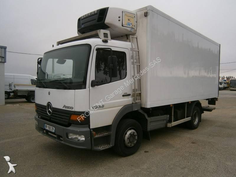 camion mercedes frigo carrier monotemperatura atego 1223 4x2 gasolio euro 3 sponda usato n 2178168. Black Bedroom Furniture Sets. Home Design Ideas