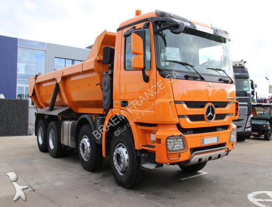 camion mercedes benne actros 4144 8x4 gazoil occasion n 2214128. Black Bedroom Furniture Sets. Home Design Ideas