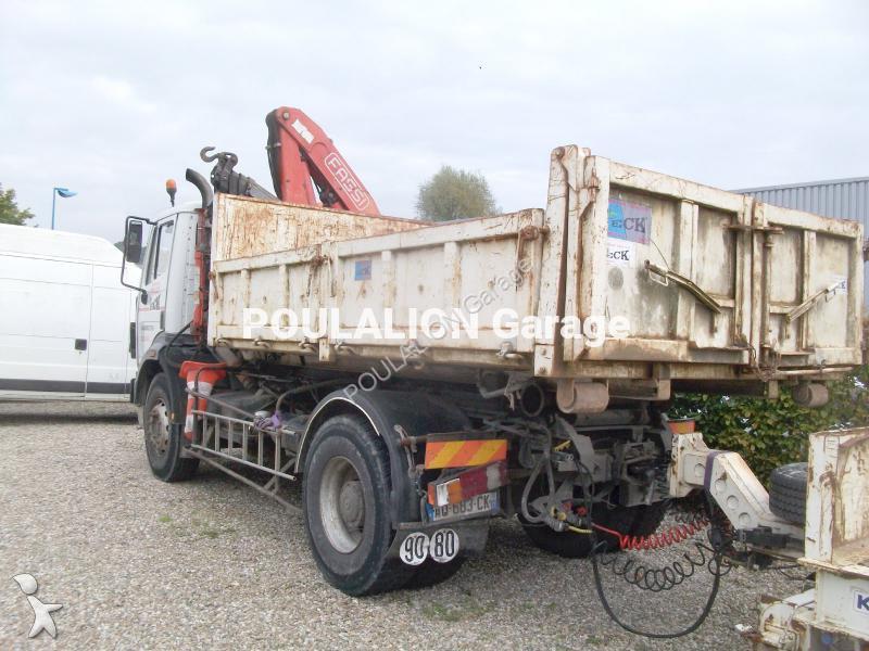 camion mercedes polybenne sk 2031 4x2 gazoil euro 1 grue. Black Bedroom Furniture Sets. Home Design Ideas