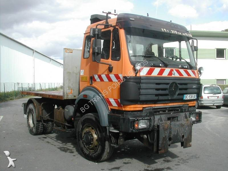camion mercedes plateau sk 2031 4x4 euro 1 occasion n 2247775. Black Bedroom Furniture Sets. Home Design Ideas