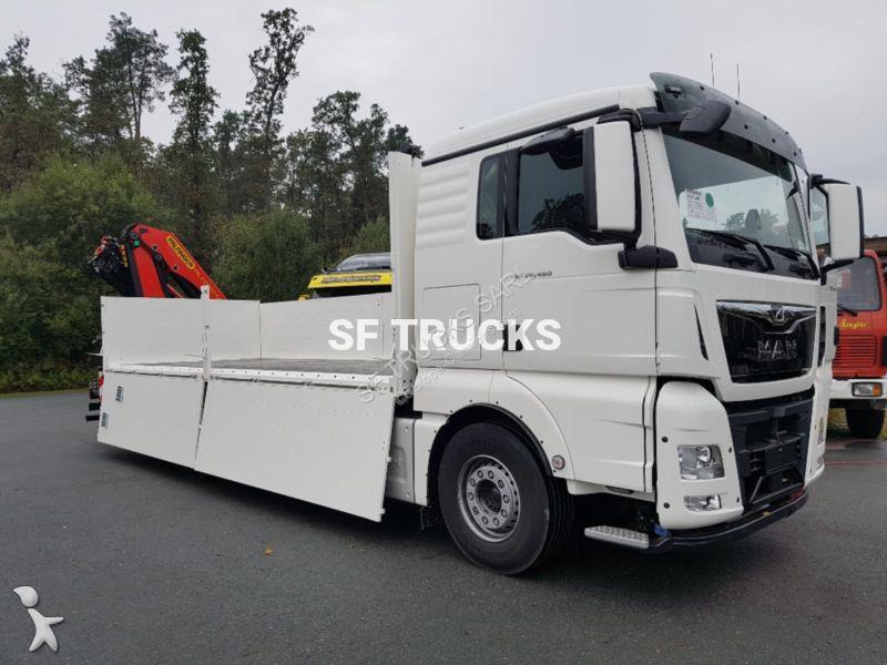 camion man plateau standard tgx 6x2 gazoil euro 6 grue neuf n 2249300. Black Bedroom Furniture Sets. Home Design Ideas