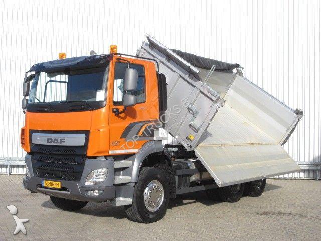 used daf cf tipper truck 460 6x4 diesel euro 6 n 2273221. Black Bedroom Furniture Sets. Home Design Ideas