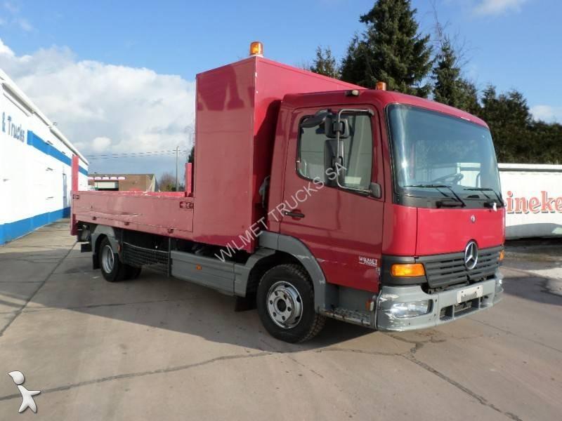camion mercedes plateau atego 815 4x2 gazoil euro 2 occasion n 2295056. Black Bedroom Furniture Sets. Home Design Ideas