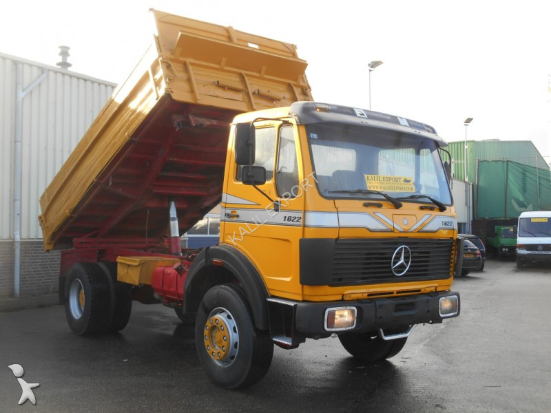 used mercedes tipper truck 1622 1922 kipper 4x4 v6 top condition 4x4 diesel n 2303986. Black Bedroom Furniture Sets. Home Design Ideas