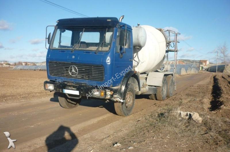 camion mercedes b ton toupie malaxeur camion hormigonera mercedes benz 2225 6x4 1989 8m3 6x4. Black Bedroom Furniture Sets. Home Design Ideas