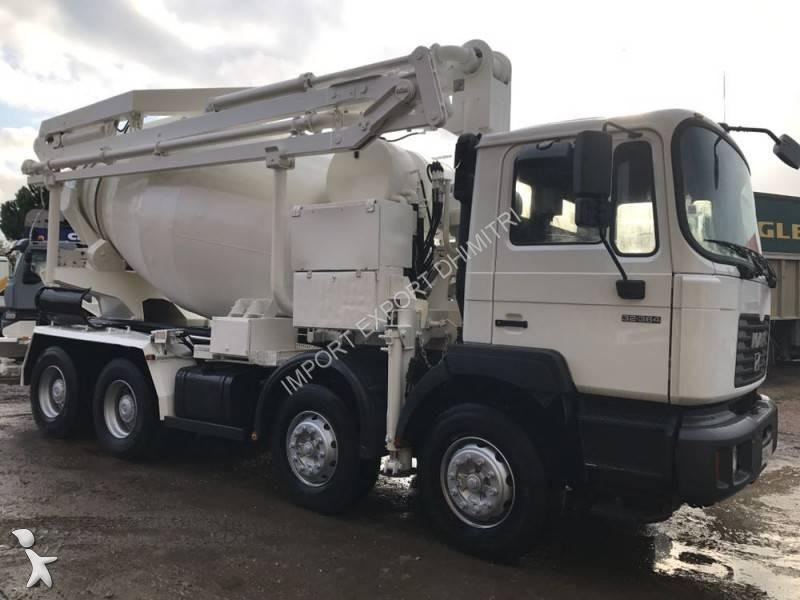 camion man b ton malaxeur pompe 6x4 gazoil euro 2 occasion n 2359559. Black Bedroom Furniture Sets. Home Design Ideas