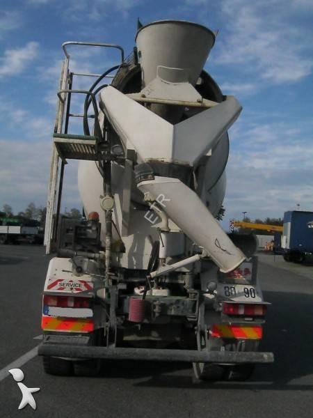 Camion volvo b ton toupie malaxeur fh12 420 6x4 gazoil - Camion toupie beton ...
