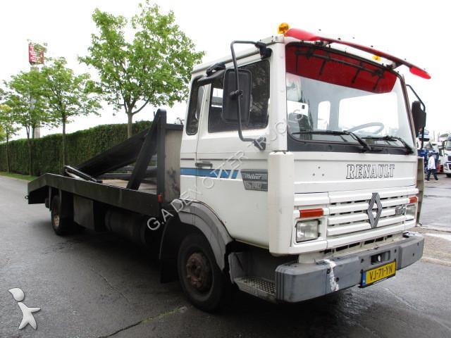 camion renault porte voitures midliner 4x2 gazoil euro 2 occasion n 2442324. Black Bedroom Furniture Sets. Home Design Ideas