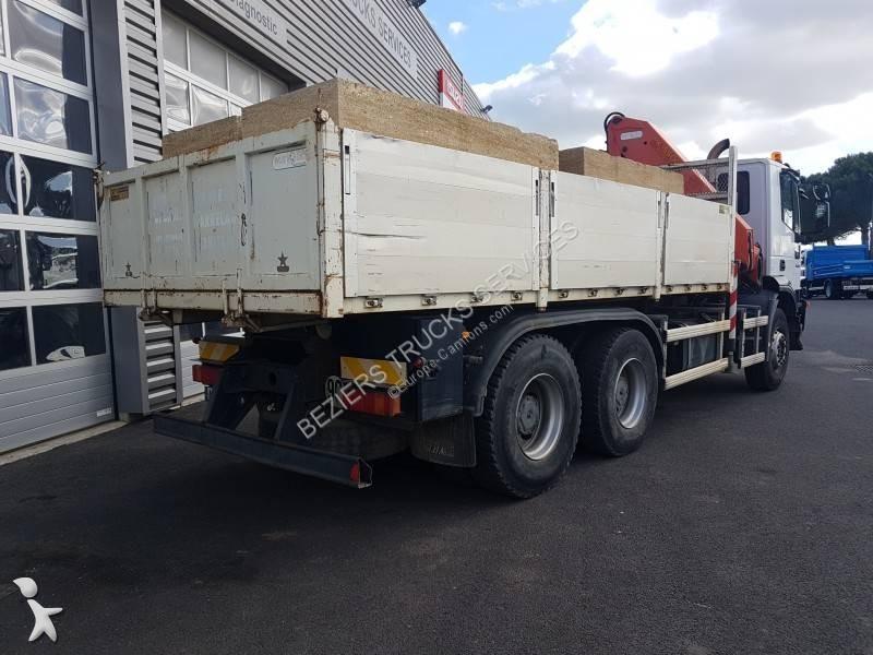 camion benne occasion iveco trakker 360 gazoil forez bennes annonce n 2469953. Black Bedroom Furniture Sets. Home Design Ideas