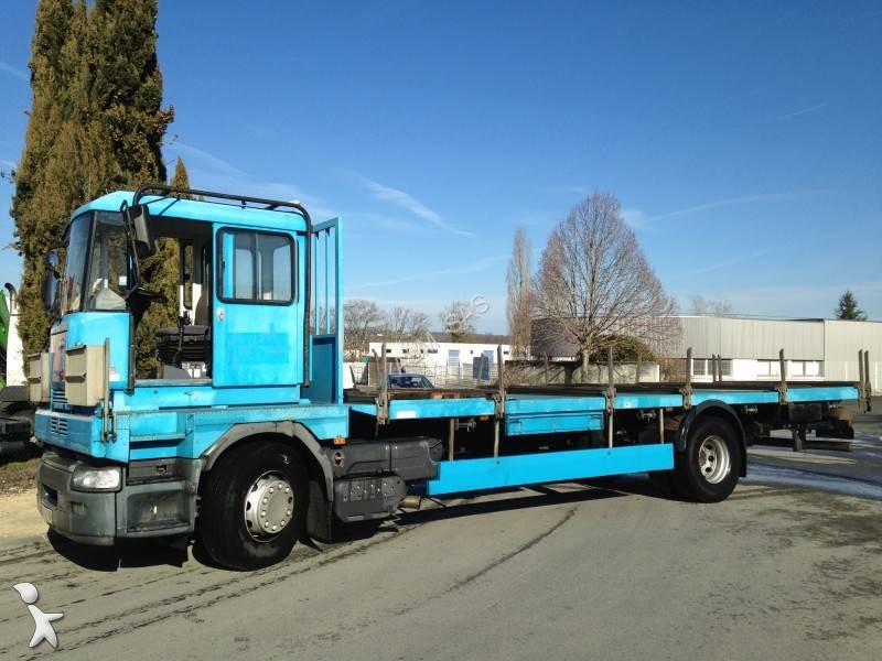 camion renault plateau porte fer premium 270 dci 4x2 euro 3 occasion n 2504159. Black Bedroom Furniture Sets. Home Design Ideas