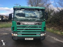 skip truck used Scania P 94P220 Hyva - Ad n°2642375 - Picture 2