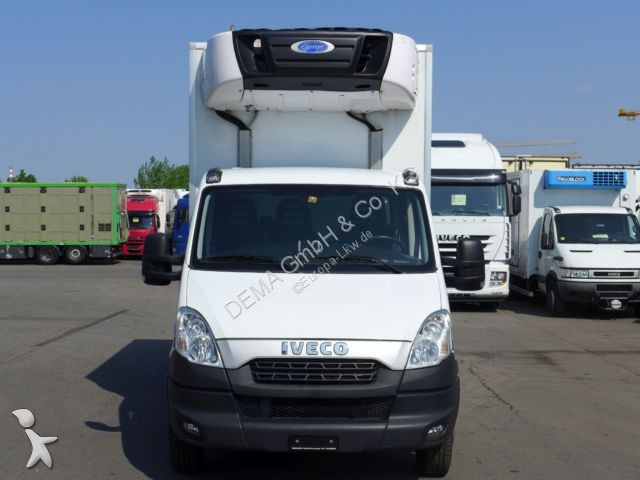 camion iveco frigo daily 50c17 euro 5 carrier supra 550. Black Bedroom Furniture Sets. Home Design Ideas
