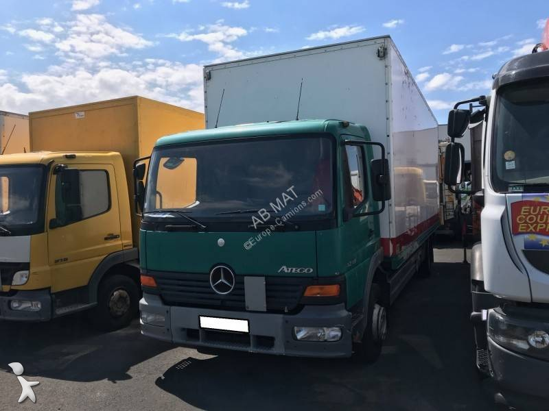camion mercedes fourgon polyfond atego 1218 4x2 gazoil euro 2 hayon occasion n 2777177. Black Bedroom Furniture Sets. Home Design Ideas