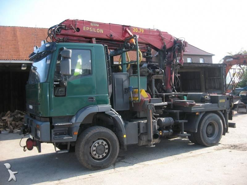 camion iveco plateau trakker 4x4 occasion n 279939. Black Bedroom Furniture Sets. Home Design Ideas