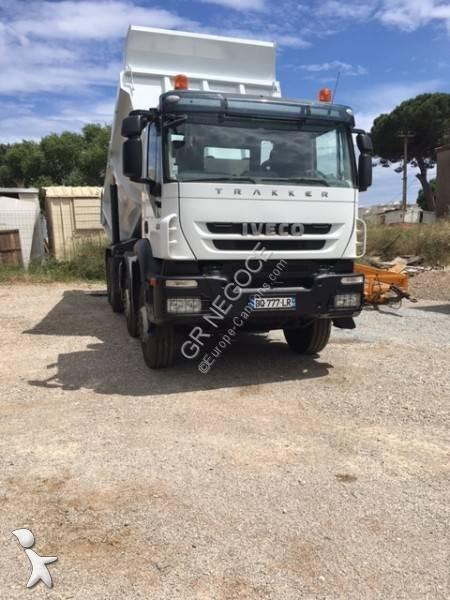 camion iveco benne trakker 450 4x2 euro 5 occasion n 2826419. Black Bedroom Furniture Sets. Home Design Ideas