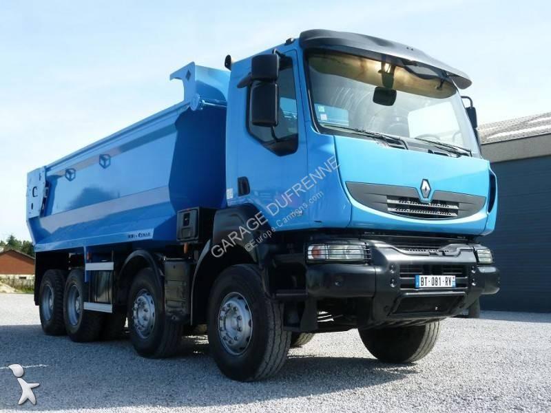 camion benne occasion renault kerax 430 dxi gazoil