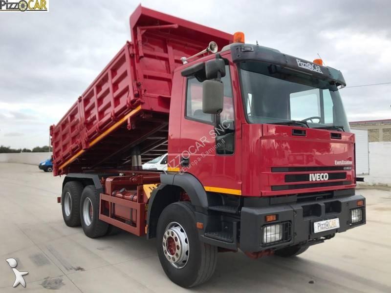 camion iveco benne eurotrakker 380 euro 3 occasion n 2848120. Black Bedroom Furniture Sets. Home Design Ideas