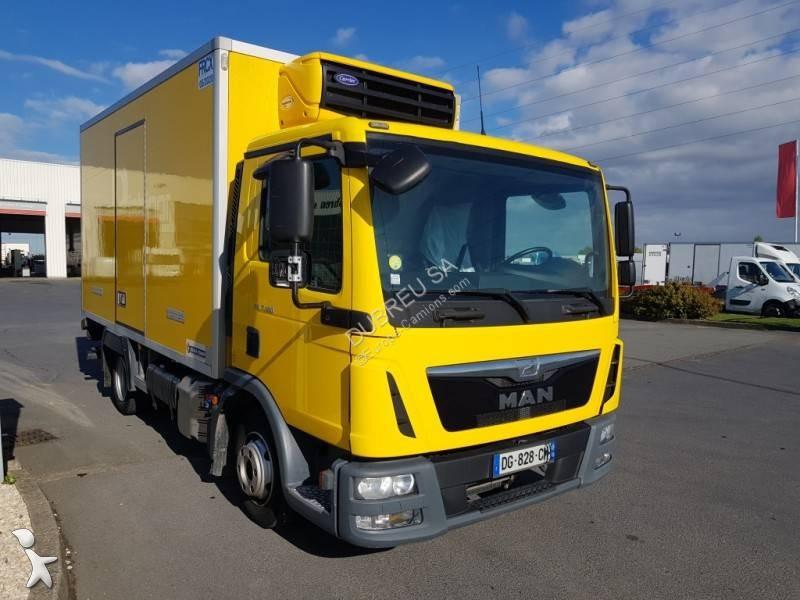 camion man frigo carrier mono temp rature tgl 4x2 gazoil euro 5 occasion n 2855457. Black Bedroom Furniture Sets. Home Design Ideas