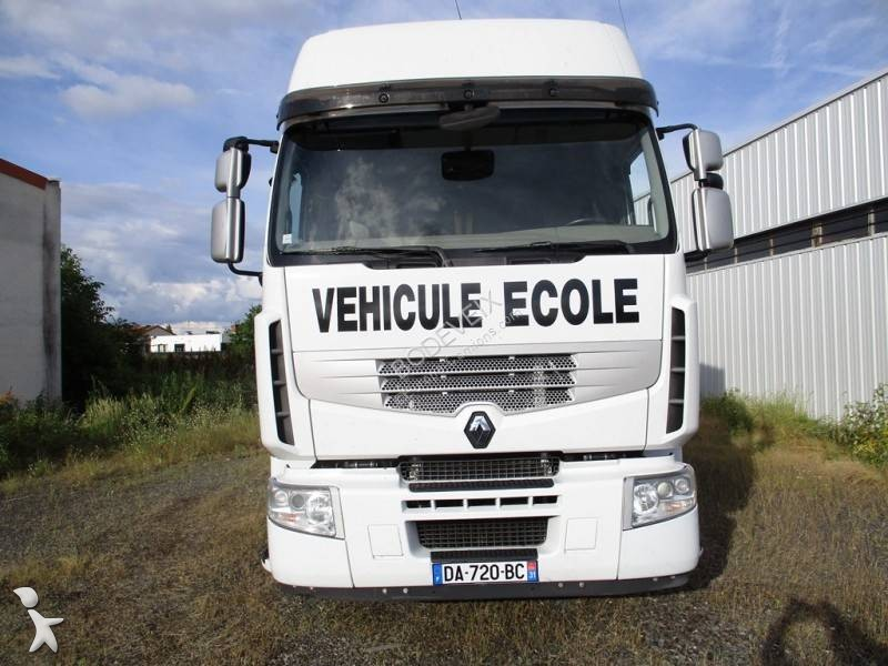camion renault auto cole premium 460 dxi 4x2 gazoil euro 5 occasion n 2859254. Black Bedroom Furniture Sets. Home Design Ideas
