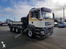 camion MAN polybenne Hiab TGA 35.390 8x4 Gazoil Euro 3 occasion - n°2999793 - Photo 2