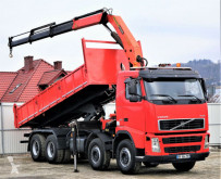 Voir les photos Camion Volvo FH12 420 Kipper+Bordmatic 6,30m+Kran Topzustand!
