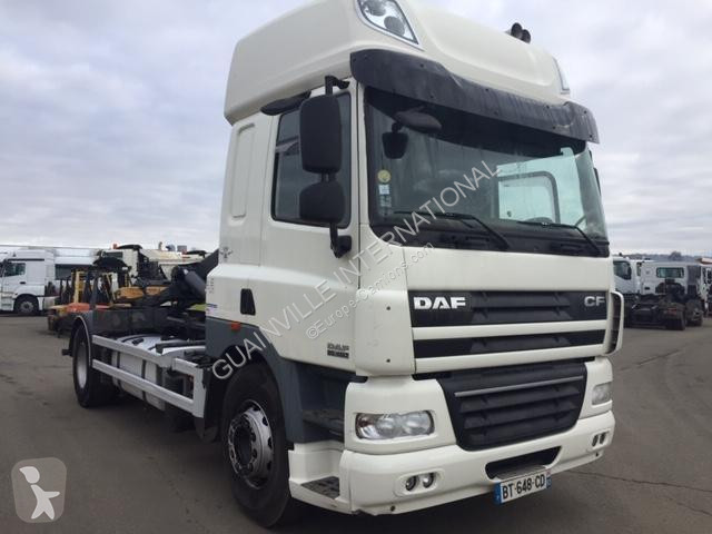 camion daf polybenne cf85 460 4x2 gazoil euro 5 occasion