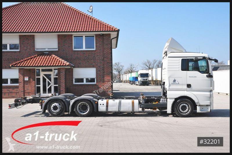 Camión MAN chasis TGX 24 440 BDF Jumbo Multi 3 Fahrhöhen 7 45 / 7 82 TÜV  05/2020 6x2 Diesel Euro 5 usado - n°3167026