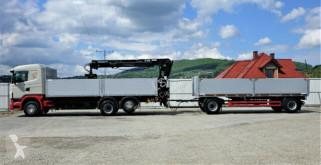 Voir les photos Camion Scania G420 Pritsche 6,80m +Kran*6x2*+Anhänger!