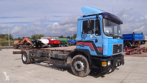 Voir les photos Camion MAN 18.262 (6 CYLINDER ENGINE WITH ZF-GEARBOX / MANUAL PUMP)