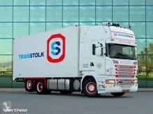 Voir les photos Camion Scania R500 V8 6X2 E5 RETARDER CARRIER SUPRA  FRIGO DEEP FREEZE
