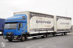 Voir les photos Camion MAN - 8.220 / ZESTAW PRZESTRZENNY / BURTO FIRANKA + remorque