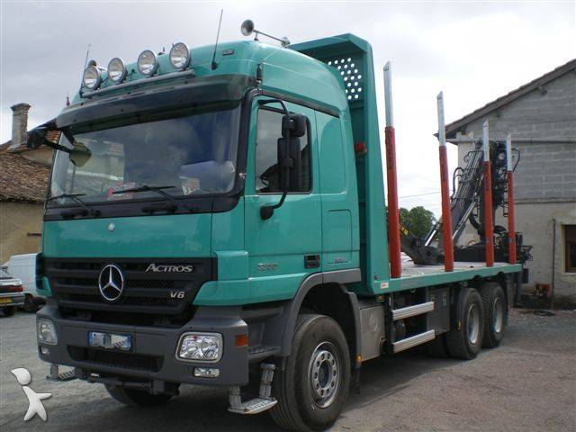 gebrauchter mercedes actros holztransporter 6x4 diesel euro 5 n 402224. Black Bedroom Furniture Sets. Home Design Ideas