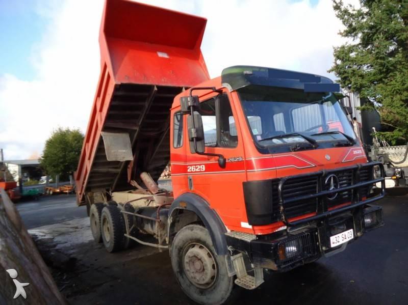 camion mercedes benne sk 2629 6x4 gazoil occasion n 462314. Black Bedroom Furniture Sets. Home Design Ideas