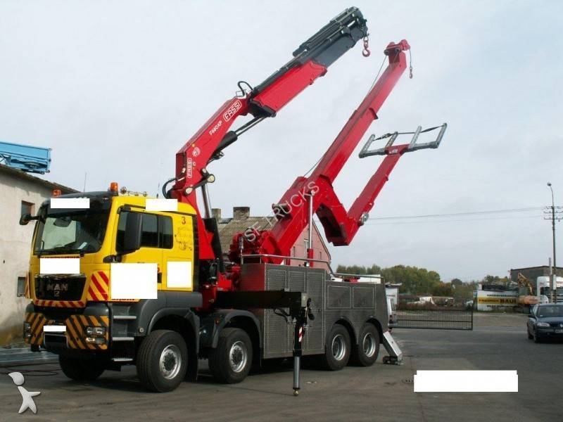 camion man d u00e9pannage tga 41 480 8x8 euro 4 occasion