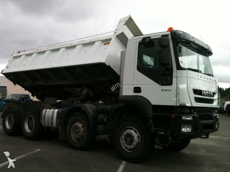camion iveco bi benne trakker ad 410 t 45 8x4 gazoil euro 4 occasion n 558632. Black Bedroom Furniture Sets. Home Design Ideas