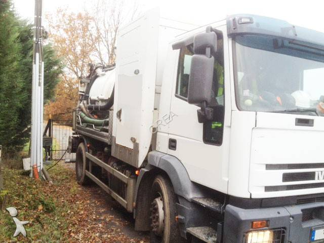 camion hydrocureur occasion iveco eurotech 430e26 gazoil. Black Bedroom Furniture Sets. Home Design Ideas