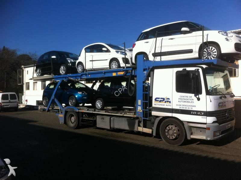 Camion mercedes porte voitures actros 1843 4x2 gazoil - Porte automatique poulailler occasion ...